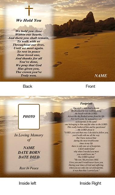 Memorial Card Style 11