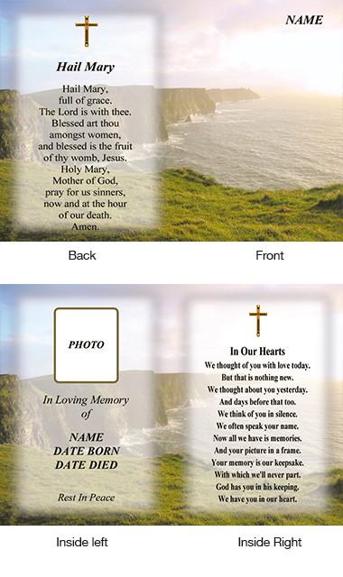 Memorial Card Style 27